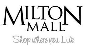 Milton Mall Black & White Logo
